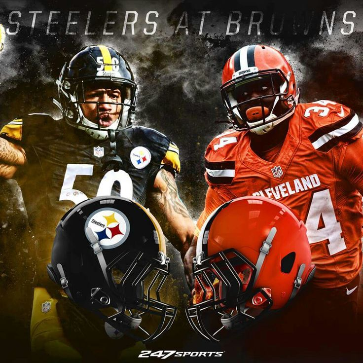 STEELERS/BROWNS FIRST SEASON GAME IN CLEVELAND SUNDAY 1PM GO STEELERS