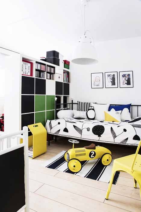Bold and cheerful space