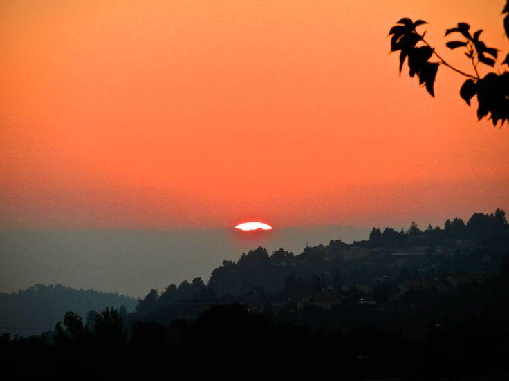 The Kibbutz Sunset: Israel