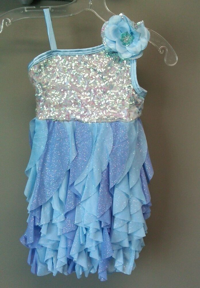 564227d55 Weissman Dance Costume Blue Periwinkle Size IC NEW  fashion ...