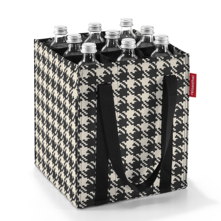 Bottlebag fifties black! These are wonderful for picking up and returning bottles at the store! Also, stick one of thse in the trunk of your car for a road trip!