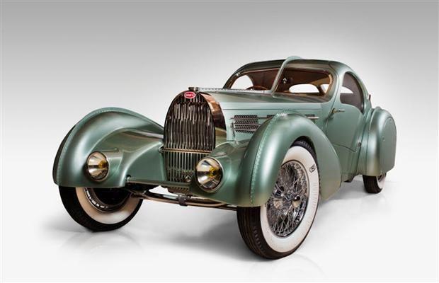 (1935 Bugatti Aerolithe Coupé)