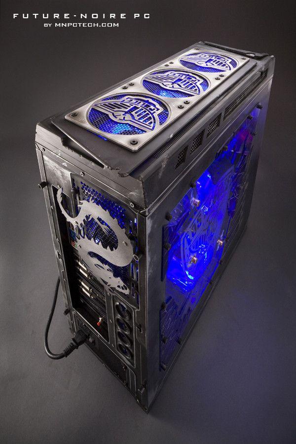 157 best custom gaming pc case mods images on pinterest for Case modello moderne