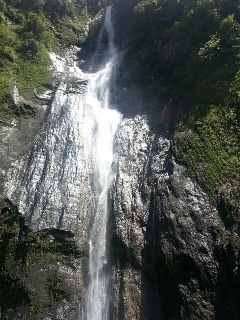 Cascada en el Valle de Tenza Boyaca, Colombia