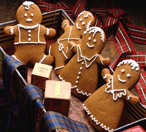 biscoitos de gengibre, biscoitos de Natal, gingerbread