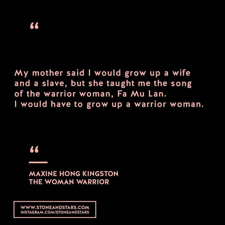 Book of the week 'The Woman Warrior' by Maxine Hong Kingston #hustle #book #motivation #inspiration #entrepreneur #girlboss #boss #quote #wisdom #write