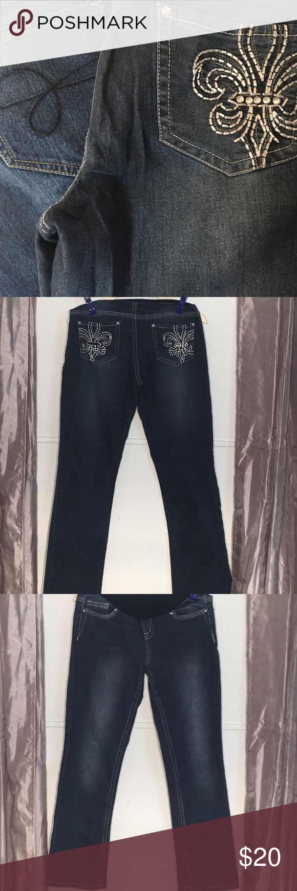 Maternity jean bundle of 2. Size medium 2 pair maternity jeans. Planet motherhood, Indigo blue. Both size medium GUC  All blue jeans are buy one get one of equal or lesser value 1/2 off! Jeans