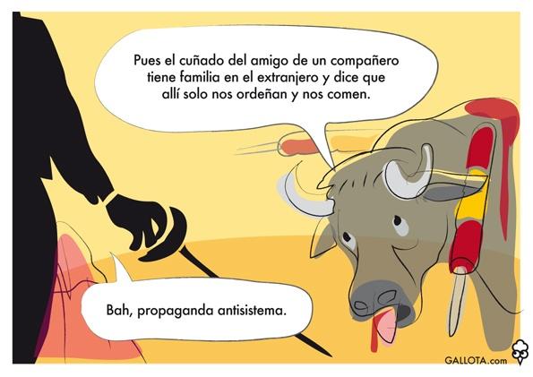 Toro antitaurino.