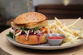 Photo of the Carlton burger