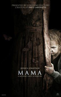 Mama (2013)- This was a freaky movie. Horror flicks don't scare me unless they are realistic, and this one wasn't but it was pretty well done for a horror movie. Weird ending but it was just a better movie than most horror movies they put out. I could barely recognize Jessica Chastain.
