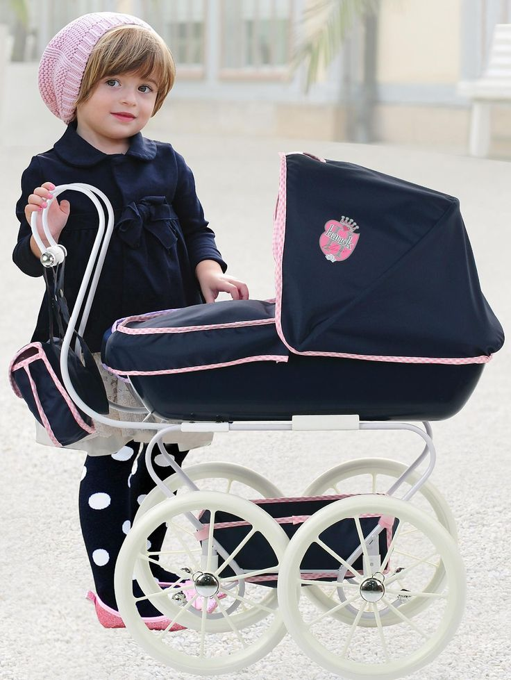 Hauck Classic Navy Dolls Pram | very.co.uk  Great Value at only £39.99!
