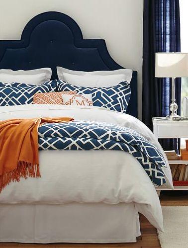 66 best Navy Orange interiors images on Pinterest Bedrooms