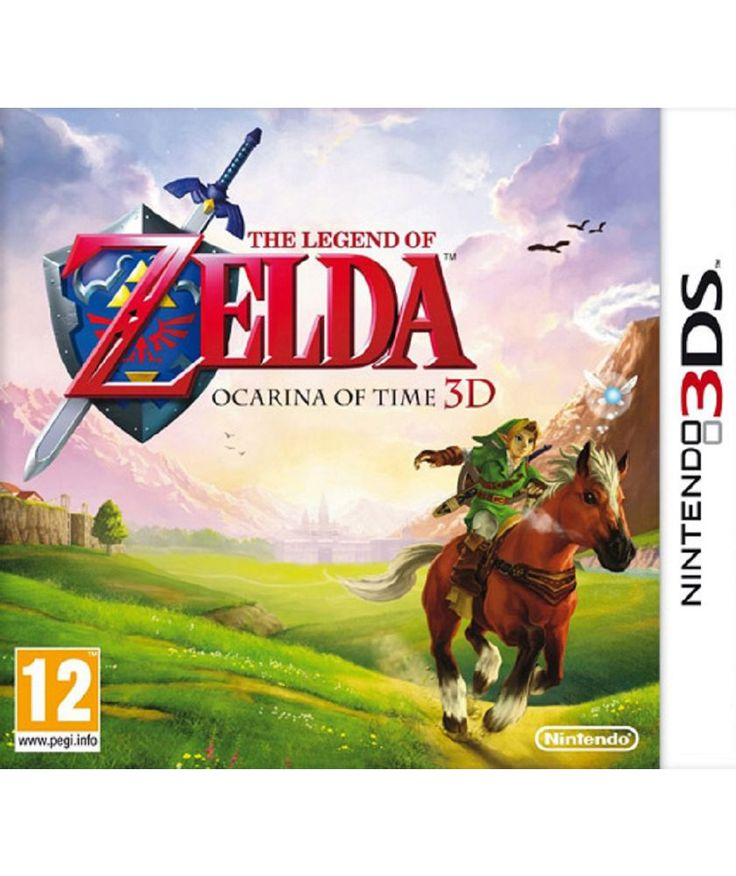 Buy The Legend of Zelda: Ocarina of Time 3D Nintento 3DS Game at Argos.co.uk - Your Online Shop for Nintendo 3DS, 2DS and DS games.