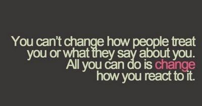 Savvy Quote : You Can't Change How People Treat You... | The Savvy SistahThe Savvy Sistah