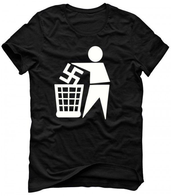 ANTI NAZISM T-shirt Sweatshirt Hoodie Mens Womens