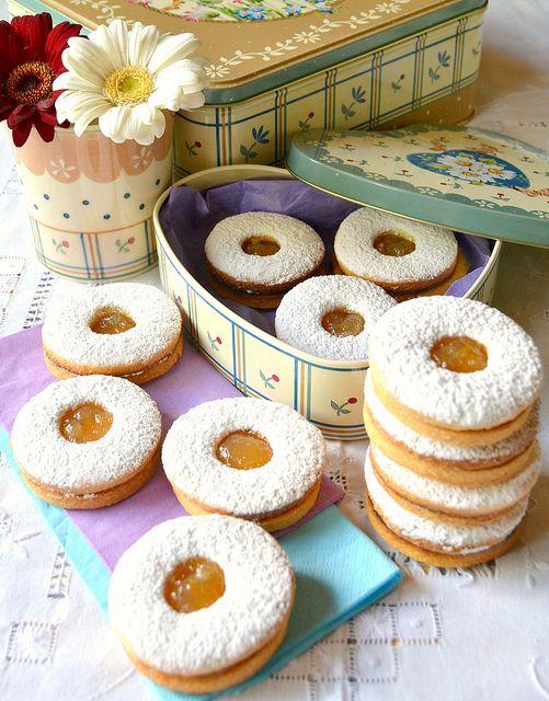 Biscotti margherite al limone
