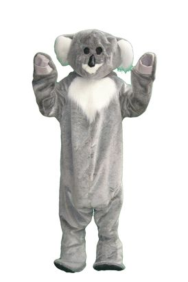 Koala Mascot Costume available for hire in store. Available in Medium and Large.