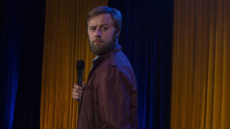 """Rory Scovel's new Netflix special is called Rory Scovel Tries Stand-Up For the First Time, a premise the comedian never mentions on stage but does commit to during a taped mid-show sketch featuring Jack White. """"What about a guy who doesn't know what he's doing, is completely out of his element, unat"""