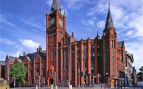 The University of Liverpool became the origin of the term 'red brick universiities' because of its distinctive colouring