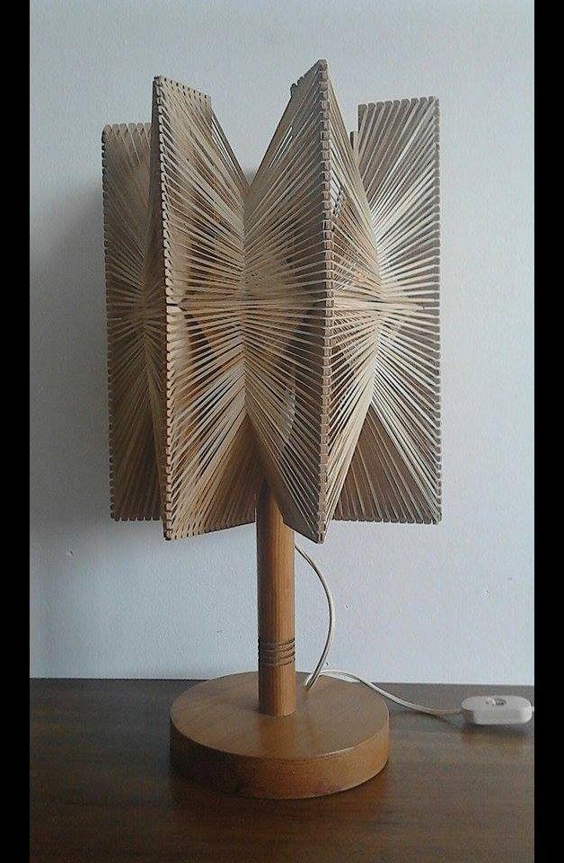 Great gift for vintage lovers. Vintage Table Lamps – Retro Table lamp 1960s Scandinavian style vintage – a unique product by TOMMYBANANA via en.DaWanda.com
