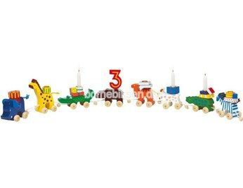 Goki fødselsdagstog, safaridyr