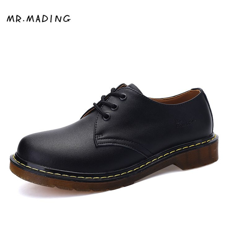 Lovers Famous Designer Retro Leather Men Casual Shoes