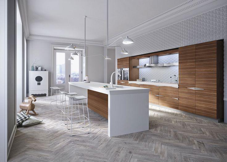 87 Best Kitchen Images On Pinterest Modern Kitchens, Kitchen   Designer  Kuche Halbinsel Ola25