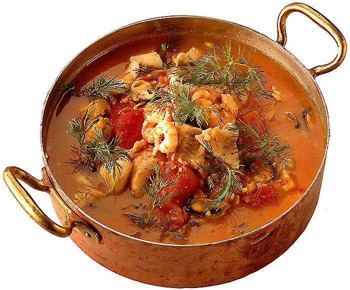 Fisk- och skaldjursgryta | Recept.nu