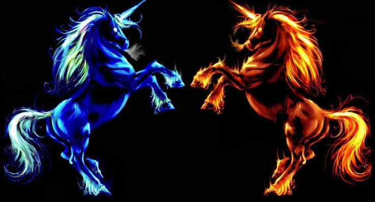 Ice And Fire Unicorn Photo by aroeslion | Photobucket ...