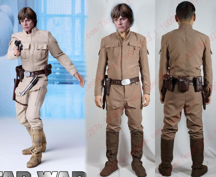 Star Wars Luke Skywalker Cosplay Costume with shoe covers and waist bag  //Price: $ US $89.00 & FREE Shipping Worldwide//       #clothing #fashion #makeup #lips #face #dress #lipstick #style #trend