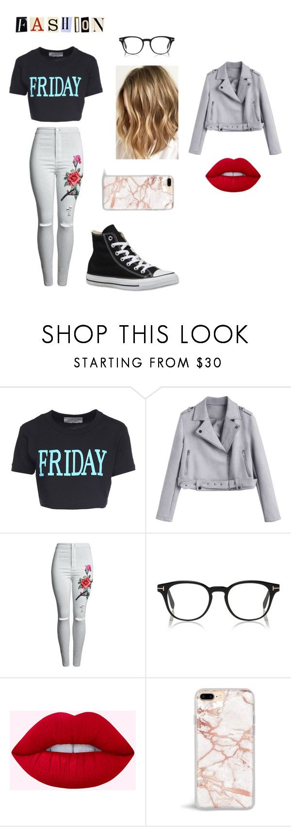 Fashion Friday by dariamiruna on Polyvore featuring Alberta Ferretti and Converse