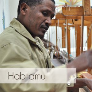 Haptamu is a weaver and has been working for Sabahar, based in Ethiopia, for five years. Sabahar is a proud member of the World Fair Trade Organisation. Sabahar scarves are available on kulturebox.co.za