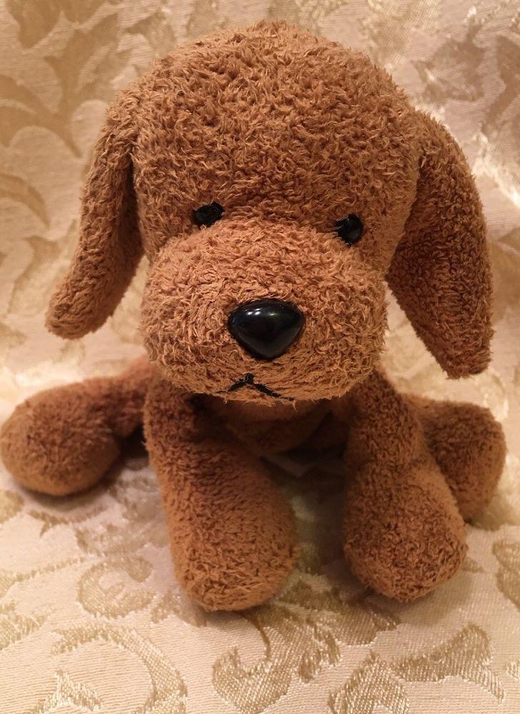 Rare Rusty Russ Puppy Dog Plush Brown Bean Bag Mini 5 Ebay