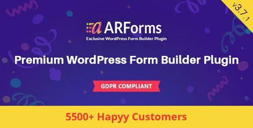 CodeCanyon - ARForms v3 7 1 - Wordpress Form Builder Plugin
