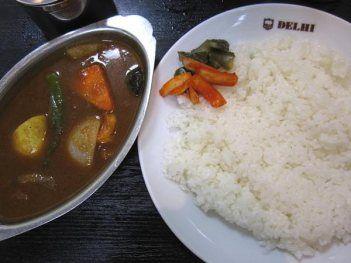上野「デリー」のベンガルカレー カレーとインド料理・パキスタン料理のデリー