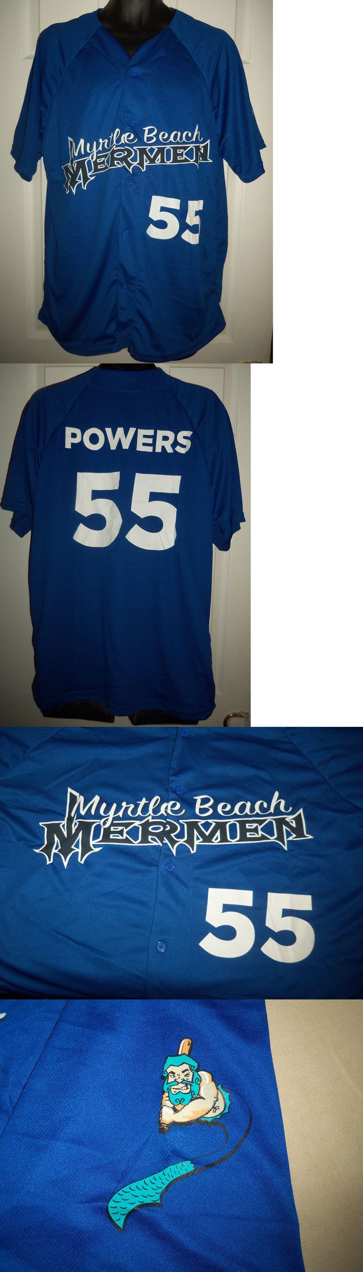 Baseball-Minors 24441: Myrtle Beach Mermen Kenny Powers #55 Xl Jersey Sga Pelicans Eastbound And Down Nip -> BUY IT NOW ONLY: $60 on eBay!