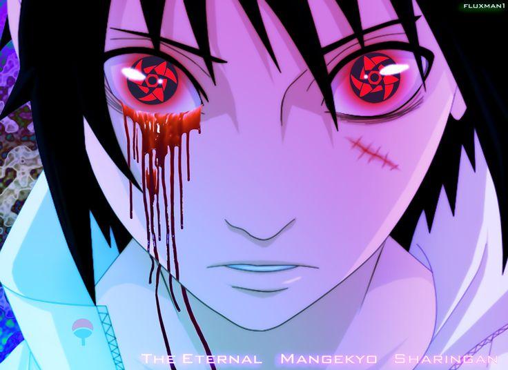 sasuke uchiha sharingan mangekyou eternal - Buscar con Google