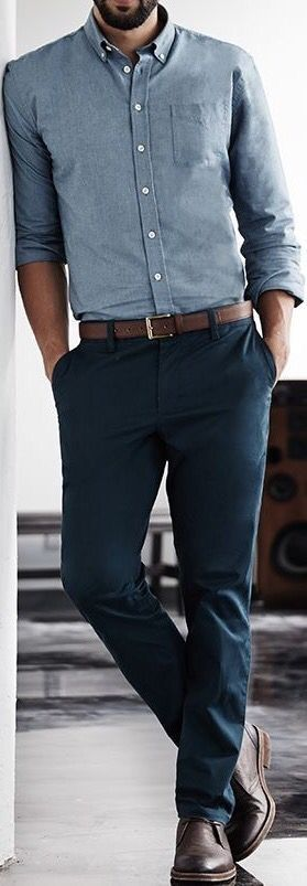 Harry could use pants and a shirt like this-