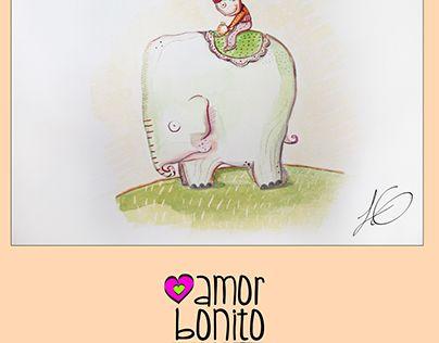 "Check out new work on my @Behance portfolio: ""amor bonito elefante"" http://be.net/gallery/51641523/amor-bonito-elefante"