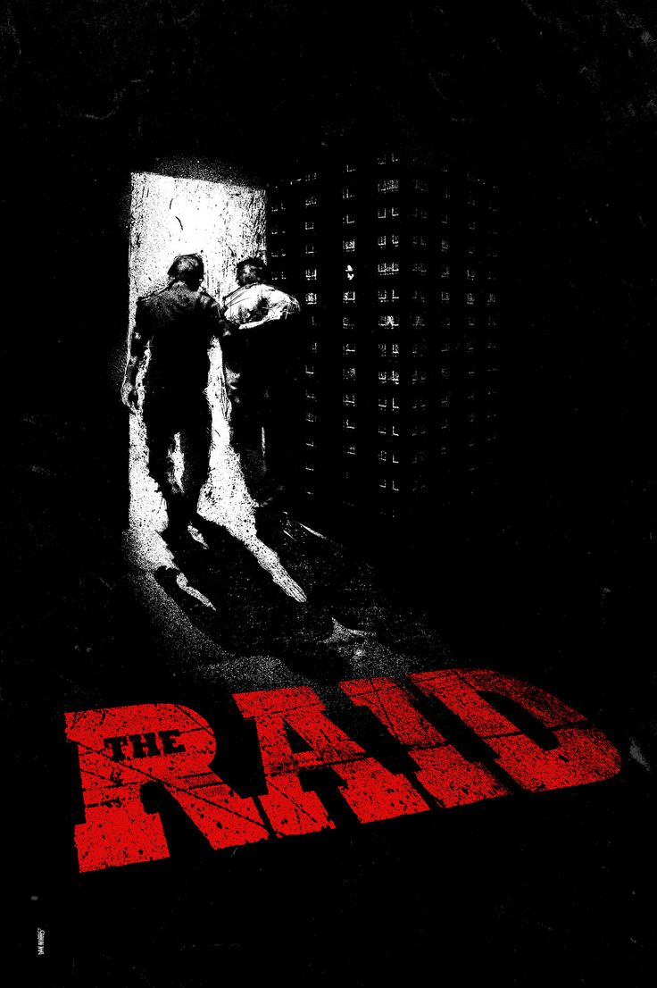 The Raid: Redemption (2011) ~ Alternative Movie Poster by Daniel Norris