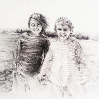This is a drawing i did for my beautiful cousin's 20th birthday. The drawing is of my cousin and i when we were really little (around 6-ish). We've been best buds since forever. She's honestly a super amazing person. I wish her all the happiness in the world. Anyways, ill stop with the cheese. Can anyone guess which one's me??? Muahaha xD #childhood #drawing #sketch #shading #traditionalart #newzealand #me #cousin #friends #bffs #realisticart #art #realistic #realism