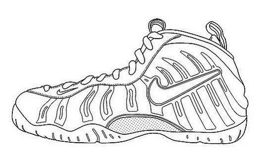 Nike Air Humara Coloring Page Shoes