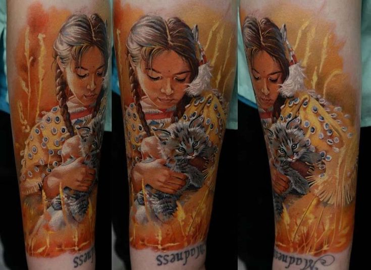 One of the Most Talented Realistic Tattoo Artists in the World - Dmitry Samohin