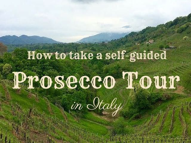 Prosecco tours in Italy can cost up to €600 per person but you don't need to spend so big. For under €100 per person here's a self-guided itinerary.
