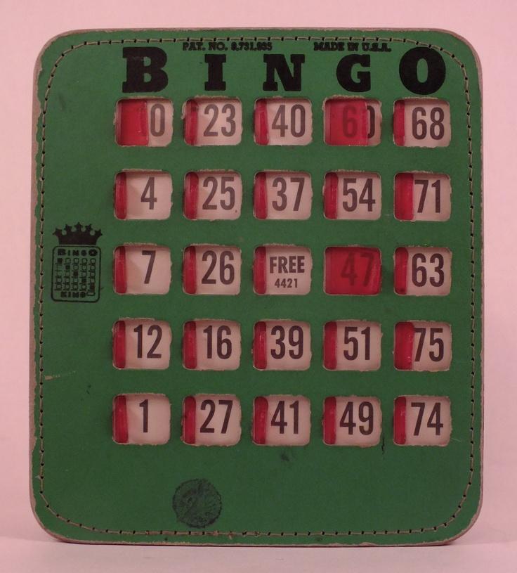 Vintage Bingo Card 52