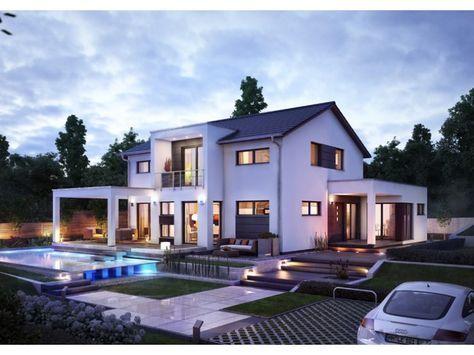 Innovation R - #Einfamilienhaus von RENSCH-HAUS GMBH | HausXXL #Energiesparhaus #Nullenergiehaus