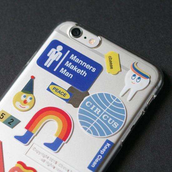 Cbb smartphone case 05 sticker boy by circus boy band