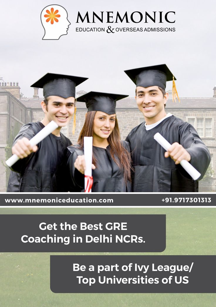 Are you aiming to crack GRE exam? Join mnemonic education and start GRE Preparation with expert guidance.  It provides excellent GRE Coaching, best study material, experienced tutors and Mock test practice.