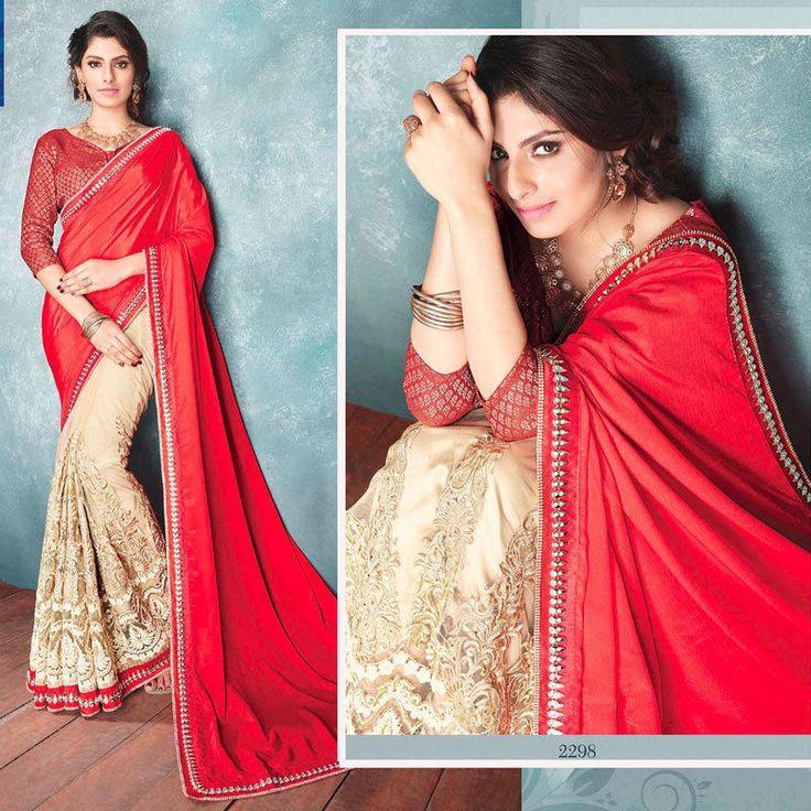 Bollywood Designer Indian Pakistani Asian Wedding Bridal Saree Sari Blouse dress #Handmade #sareesari #Festive