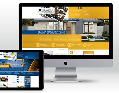 """Check out new work on my @Behance portfolio: """"the creative proposal // Gradia Web Design"""" http://on.be.net/1ObnOvB"""